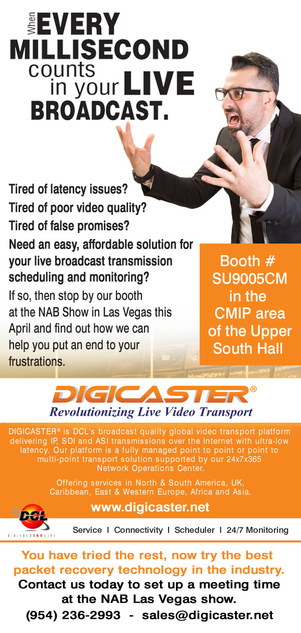 DCL Email Blast before tradeshow